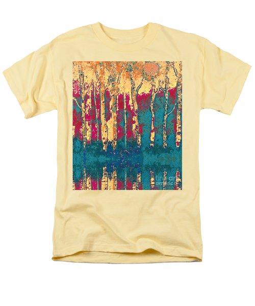 Autumn Birches Men's T-Shirt  (Regular Fit) by Holly Martinson