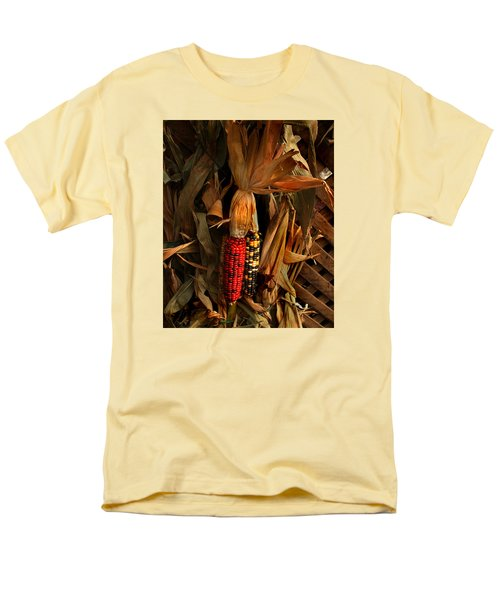 Men's T-Shirt  (Regular Fit) featuring the photograph Autumn Harvest by Kathleen Stephens