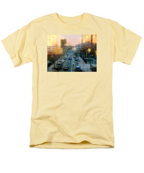 Autumn In Harlem Men's T-Shirt  (Regular Fit) by Diana Angstadt