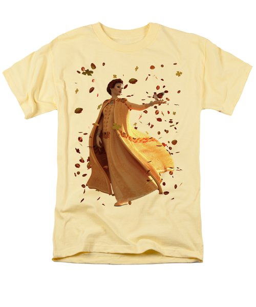 Men's T-Shirt  (Regular Fit) featuring the digital art Autumn by Methune Hively