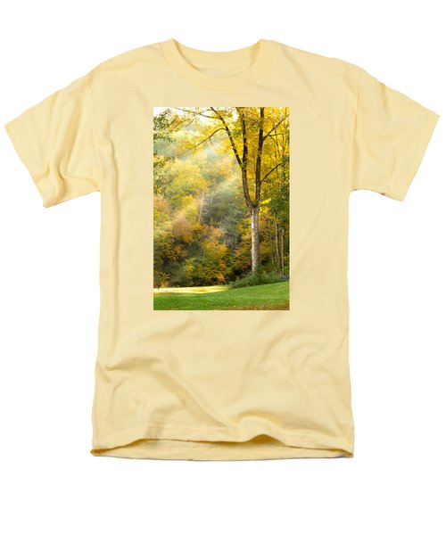 Autumn Morning Rays Men's T-Shirt  (Regular Fit) by Brian Caldwell
