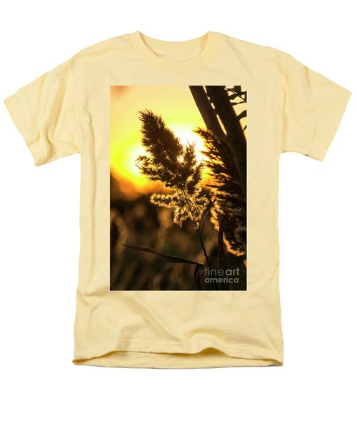 Men's T-Shirt  (Regular Fit) featuring the photograph Backlit By The Sunset by Zawhaus Photography