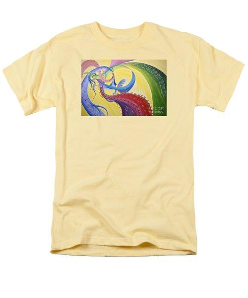 Baubles N Bows Men's T-Shirt  (Regular Fit) by Nancy Cupp