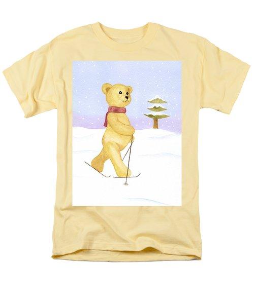 Bear Men's T-Shirt  (Regular Fit) by Elizabeth Lock