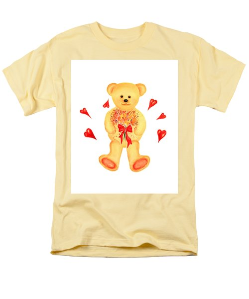 Bear In Love Men's T-Shirt  (Regular Fit)