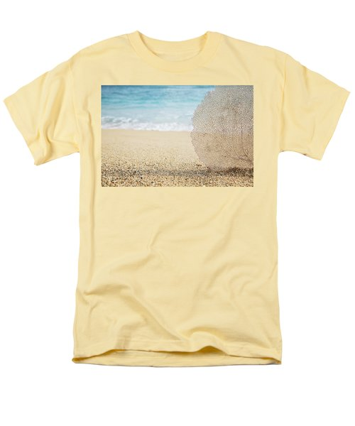 Beautiful Coral Element 1 Men's T-Shirt  (Regular Fit) by Brandon Tabiolo - Printscapes