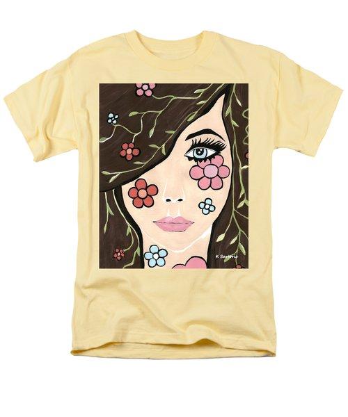 Men's T-Shirt  (Regular Fit) featuring the painting Betty by Kathleen Sartoris