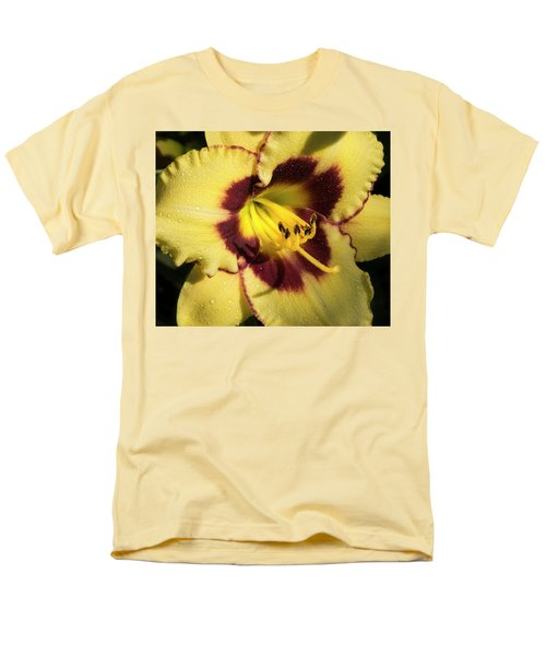 Bicolored Lily Men's T-Shirt  (Regular Fit) by Jean Noren