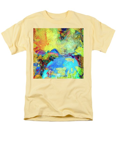 Men's T-Shirt  (Regular Fit) featuring the painting Birdland by Dominic Piperata