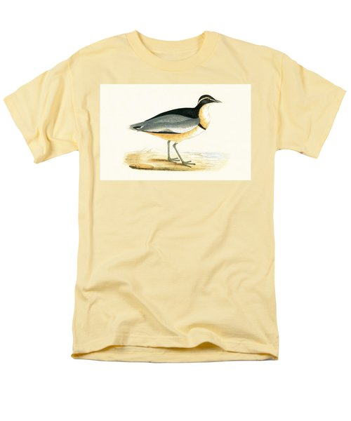 Black Headed Plover Men's T-Shirt  (Regular Fit) by English School