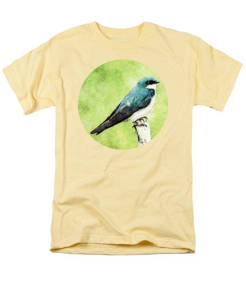 Blue Bird Men's T-Shirt  (Regular Fit) by Phil Perkins
