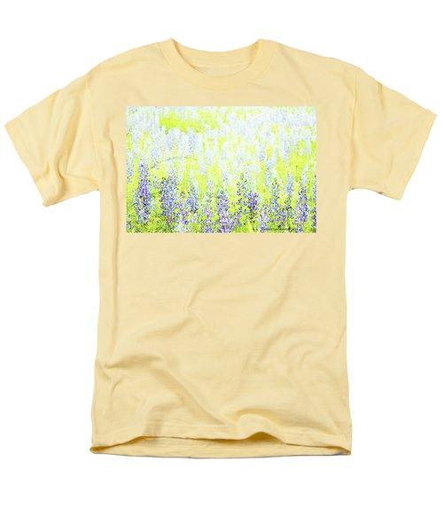 Blue Bonnet Impressions II Men's T-Shirt  (Regular Fit) by Carolina Liechtenstein