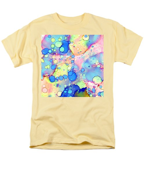 Blue Bubble Gum Pop Men's T-Shirt  (Regular Fit) by Patricia Lintner