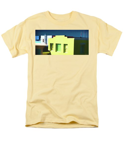 Boardwalk Carolina Beach Men's T-Shirt  (Regular Fit) by Glenn Gemmell