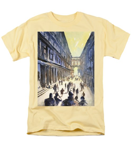 Bologna Sunset- Italy Men's T-Shirt  (Regular Fit) by Ryan Fox