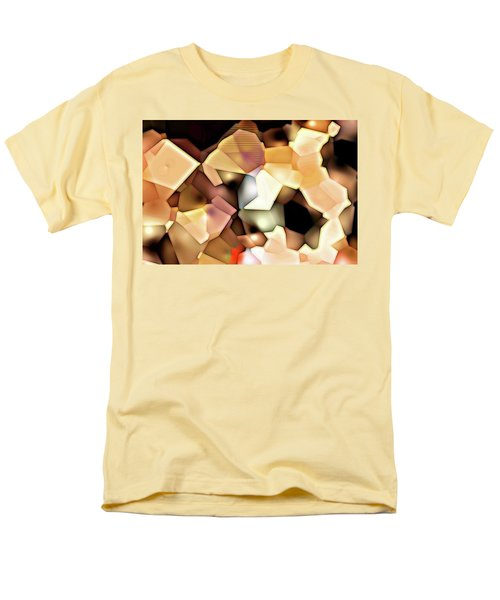 Men's T-Shirt  (Regular Fit) featuring the digital art Bonded Shapes by Ron Bissett
