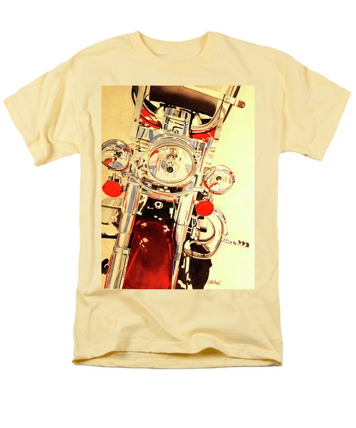 Born To Be Wild Men's T-Shirt  (Regular Fit) by Cynthia Powell