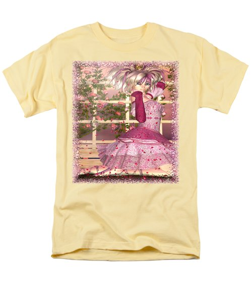 Breath Of Rose Fantasy Elf Men's T-Shirt  (Regular Fit) by Sharon and Renee Lozen