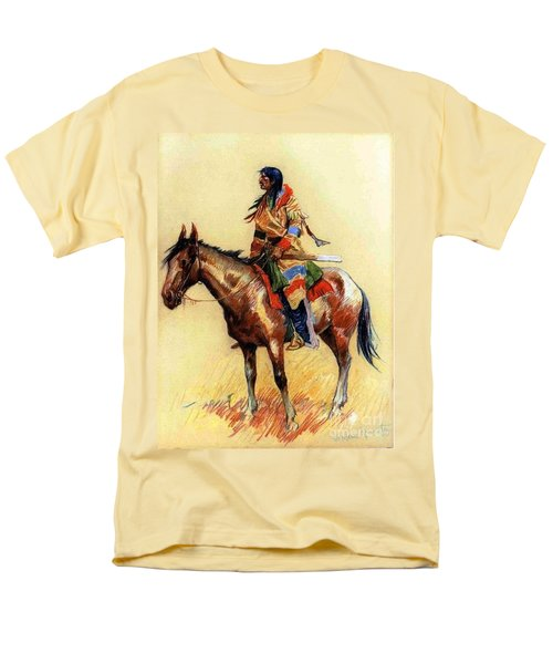 Men's T-Shirt  (Regular Fit) featuring the painting Breed by Pg Reproductions