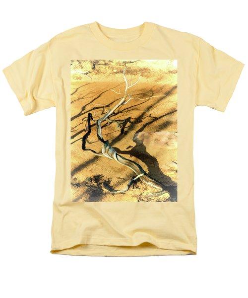 Brins Mesa 07-100 Burnt Men's T-Shirt  (Regular Fit) by Scott McAllister