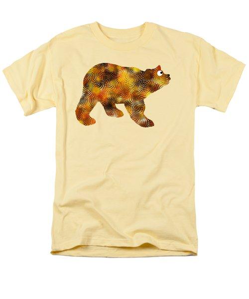 Brown Bear Silhouette Men's T-Shirt  (Regular Fit)