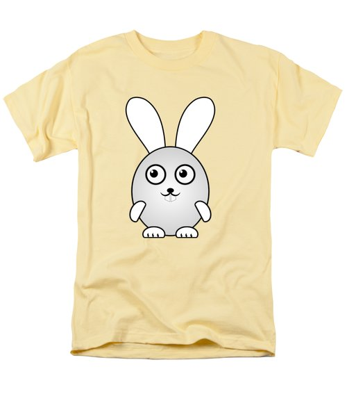 Bunny - Animals - Art For Kids Men's T-Shirt  (Regular Fit) by Anastasiya Malakhova