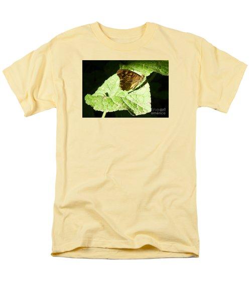 Men's T-Shirt  (Regular Fit) featuring the photograph Butterfly 2 by Jean Bernard Roussilhe