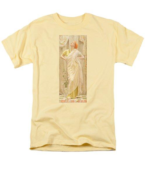 Canaries Men's T-Shirt  (Regular Fit) by Albert Joseph Moore