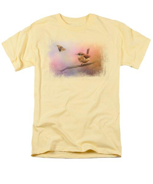 Carolina Wrens Men's T-Shirt  (Regular Fit) by Jai Johnson