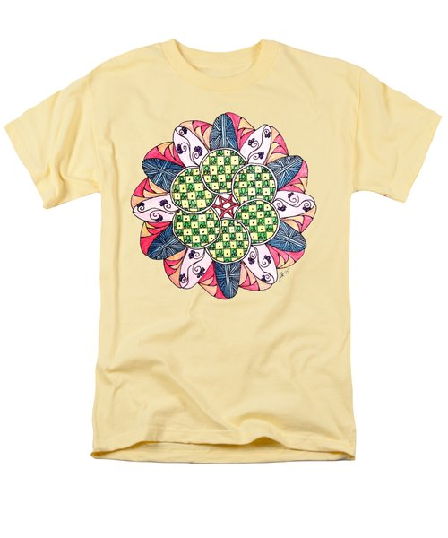 Caves Men's T-Shirt  (Regular Fit) by Lori Kingston