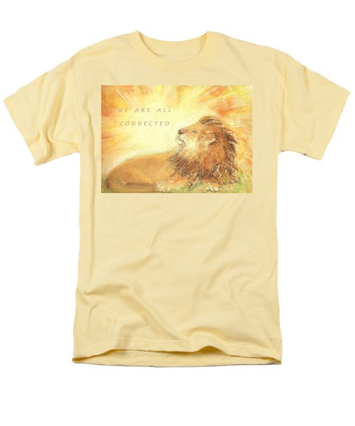 Cecil The Lion Men's T-Shirt  (Regular Fit) by Denise Fulmer