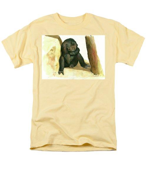 Chimp Men's T-Shirt  (Regular Fit) by Juan Bosco