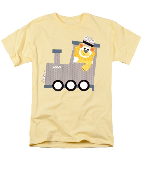 Choo Choo T-shirt Men's T-Shirt  (Regular Fit) by Herb Strobino