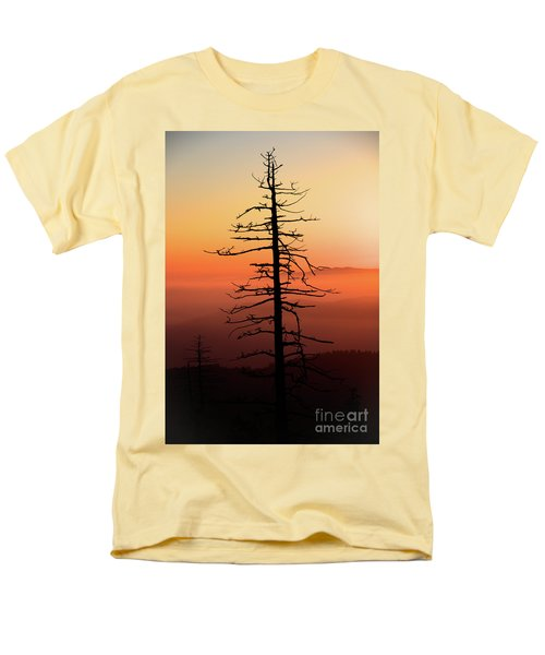 Men's T-Shirt  (Regular Fit) featuring the photograph Clingman's Dome Sunrise by Douglas Stucky
