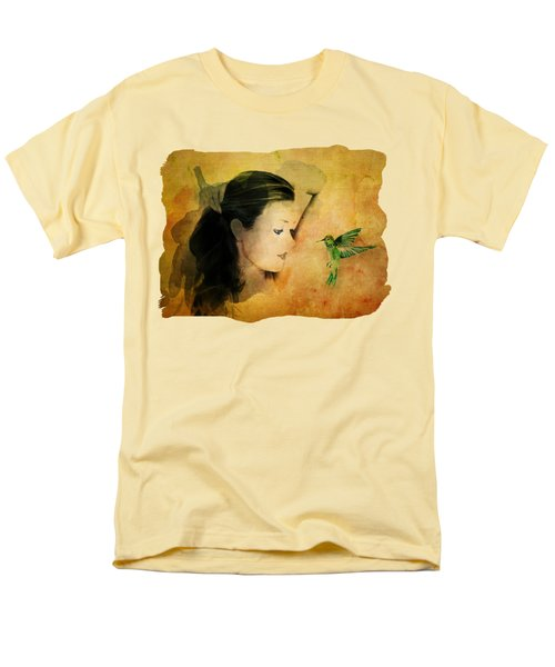 Close Encounter Men's T-Shirt  (Regular Fit) by Terry Fleckney