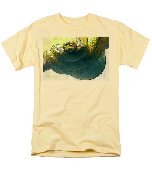 Coiled Men's T-Shirt  (Regular Fit) by Jack Zulli