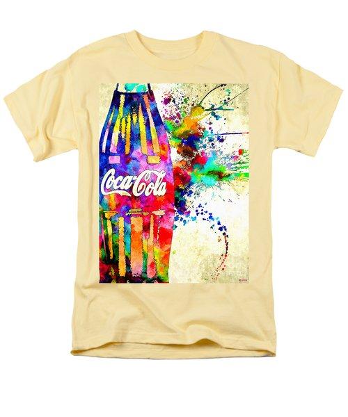Cola Grunge Men's T-Shirt  (Regular Fit)