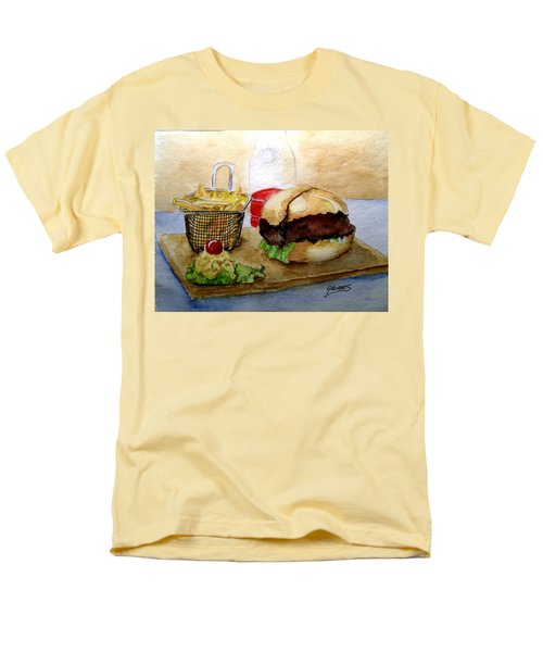 Come And Get It Dinner Is Ready Men's T-Shirt  (Regular Fit) by Carol Grimes