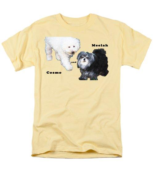 Cosmo And Meelah 2 Men's T-Shirt  (Regular Fit)