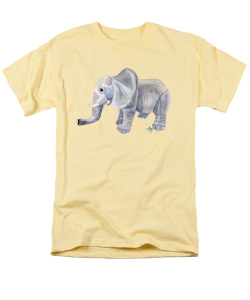 Cuddly Elephant II Men's T-Shirt  (Regular Fit) by Angeles M Pomata