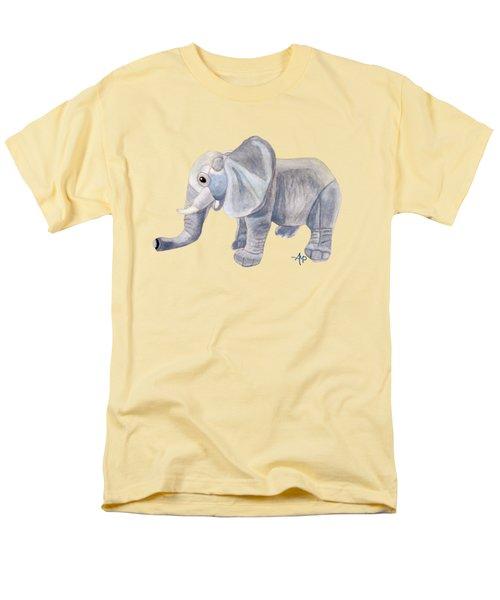 Cuddly Elephant II Men's T-Shirt  (Regular Fit) by Angeles M Pomata