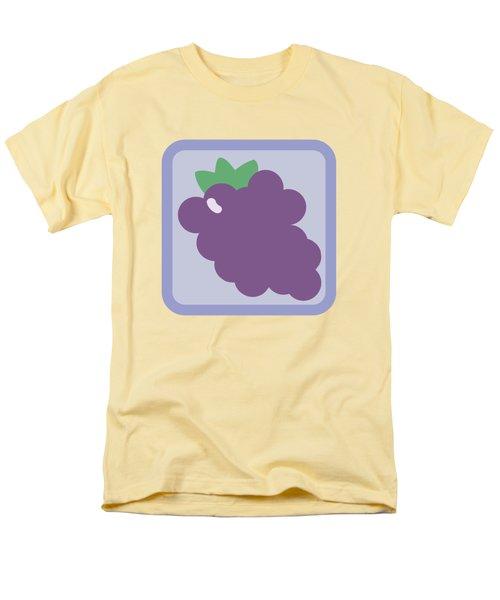 Cute Grapes Men's T-Shirt  (Regular Fit) by Caroline Goh