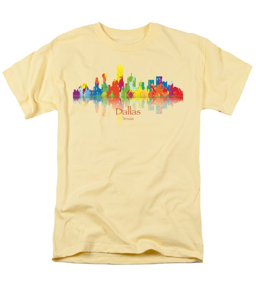 Dallas Texas Tshirts And Accessories Art Men's T-Shirt  (Regular Fit) by Loretta Luglio