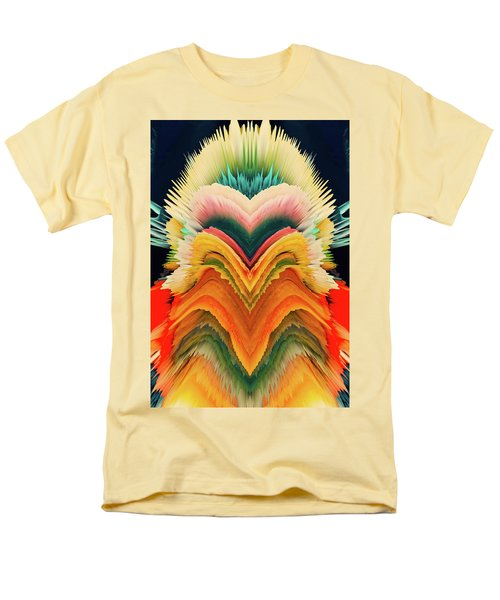Men's T-Shirt  (Regular Fit) featuring the photograph Vivid Eruption by Colleen Taylor