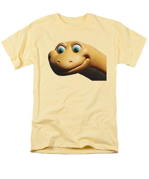 Dino Men's T-Shirt  (Regular Fit) by Debbie Oppermann