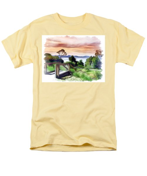 Do-00272 Look Out From Sarah Island Men's T-Shirt  (Regular Fit) by Digital Oil