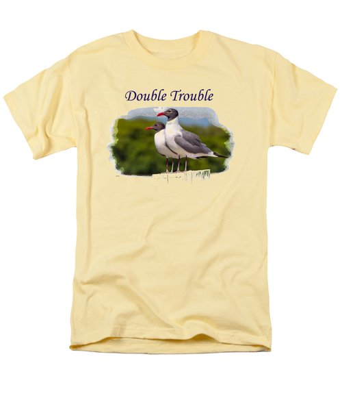 Double Trouble 2 Men's T-Shirt  (Regular Fit) by John M Bailey