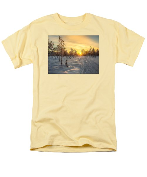 Early Morning Sun Men's T-Shirt  (Regular Fit) by Rose-Maries Pictures