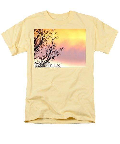 Men's T-Shirt  (Regular Fit) featuring the photograph Early Spring Sunset by Will Borden