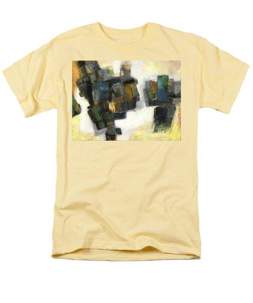 Lemon And Tiles Men's T-Shirt  (Regular Fit) by Behzad Sohrabi